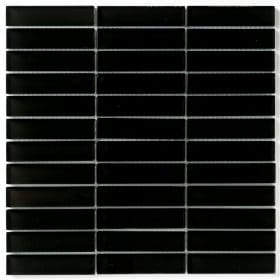 Cristal 2,3x9,8 Black 30x30 cm