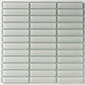 Cristal 2,3x9,8 White 30x30 cm